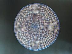 Set de table rond en osier | vannerie sénégalaise