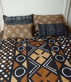 More about Bogolan plaid ethnique africain