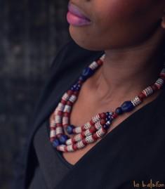 More about Collier africain en perles de verre