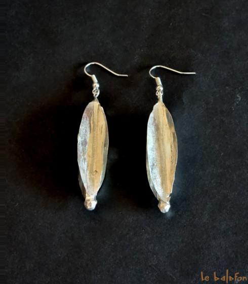 Boucles d'oreilles Fulani (Peul)