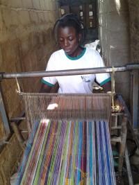 Jeanne Lompo Artisane textile Burkina-Faso