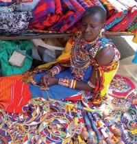 Ester Artisane Massaï du Kenya